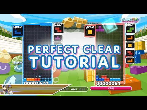 Puyo Puyo Tetris: Perfect Clear Tutorial
