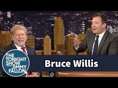 Bruce Willis Has Donald Trump Hair