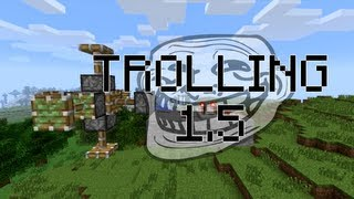 Minecraft Trolling: 1.5 Update, Trapped Chests, TNT Minecarts and more (ItsJerryAndHarry)
