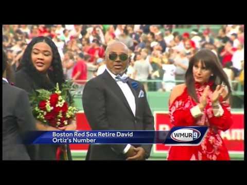 Boston Red Sox retire David Ortiz's number