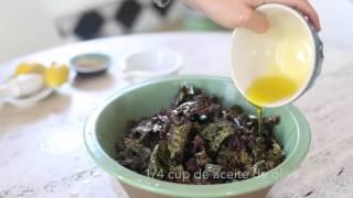 Cómo preparar Kale Chips