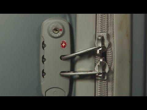 Problem mit TSA Schloss am Koffer?