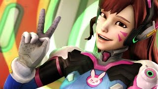 Overwatch: D'Va The Nuke [Live Commentary]