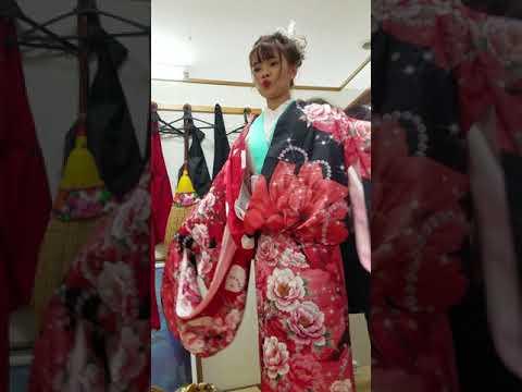 quy trình mặc kimono
