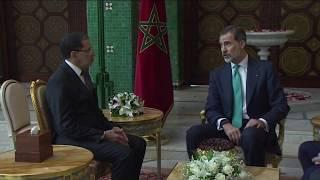 Encuentro de S.M. el Rey con el Jefe de Gobierno del Reino de Marruecos, Saadeddine Othmani