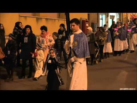 Calascibetta Processione venerdi Santo 2016