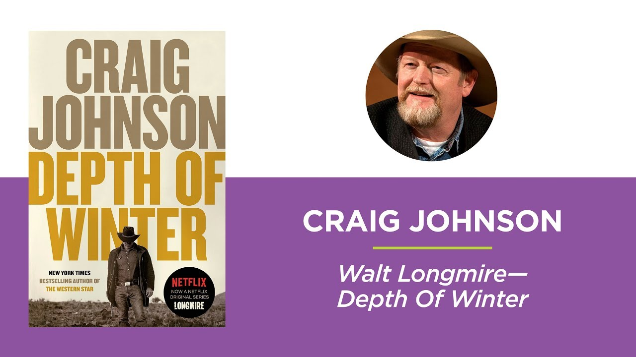 Craig Johnson on Walt Longmire