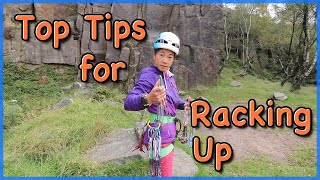 How to Rack up for Climbing - Top Tips from the Professionals by The Climbing Nomads