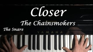Video Closer - The Chainsmokers l The Snare piano cover download in MP3, 3GP, MP4, WEBM, AVI, FLV Februari 2017