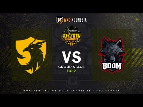 BOOM Esports vs 496  DOTA Summit Online 13: Southeast Asia   Groupstage BO2   Yudijustincase