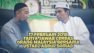 Video Tanya Jawab Cerdas Orang Malaysia 17 Februari 2018 Bersama Ustadz Abdul Somad Lc. Ma MP3, 3GP, MP4, WEBM, AVI, FLV November 2018