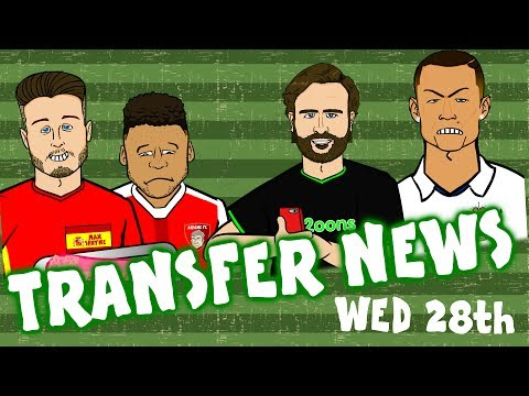 TRANSFER NEWS #8! Ronaldo Angry? Oxlade-Chamberlain To LFC? Aurier To Juve?