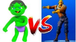 Video HULK PLAYS FORTNITE VIDEO GAME ❤ Spiderman, Hulk & Frozen Elsa PlayDoh Cartoons For Kids MP3, 3GP, MP4, WEBM, AVI, FLV Juni 2018