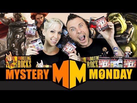 Mystery Monday Episode 14: Avengers Age of Ultron Mystery Minis (and Giveaway!)
