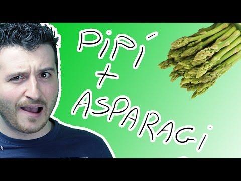 perché quando si mangiano gli asparagi la pipì puzza?