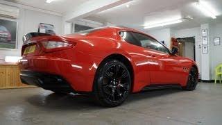 Maserati GranTurismo Vinyl Wrap