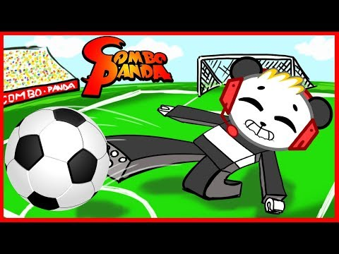 ROBLOX Kick Off Soccer Let's Play with Combo Panda (видео)