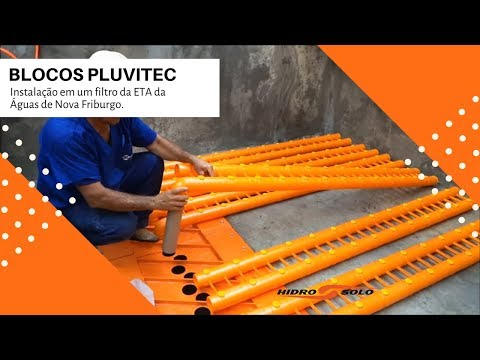 PLUVITEC Block - Installation on an ETA filter Water Nova Friburgo