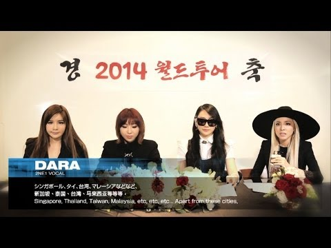 2NE1 – 2014 World Tour Official Announcement