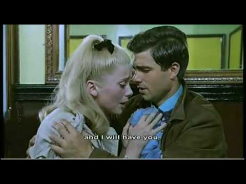 cherbourg - Catherine Deneuve and Nino Castelnuovo in the film from Jacques Démy. Music from Michel Legrand.