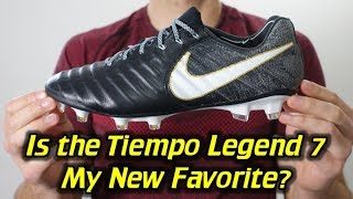 Nike Tiempo Legend 7 Review + Discount Coupon Codeshttp://soccerreviewsforyou.com/2017/07/nike-tiempo-legend-7-review/SR4U Review Website - http://soccerreviewsforyou.com/SR4U Replacement Laces - http://www.sr4ulaces.com/Daily Deals Email Signup Form ---  http://eepurl.com/Jv3ivFollow me on Facebook http://on.fb.me/RrchwtFollow me on Twitter http://bit.ly/Si812xFollow me on Instagram http://instagram.com/sr4u_josh/Follow me on Tumblr http://bit.ly/VEc3xaSoccer/Football Boot Super Deals http://soccerreviewsforyou.com/super-deals/New Release Soccer/Football Boots http://soccerreviewsforyou.com/new-cleat-releases-2/