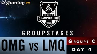 World Championship 2014 - Groupstages - Groupe C - OMG vs LMQ