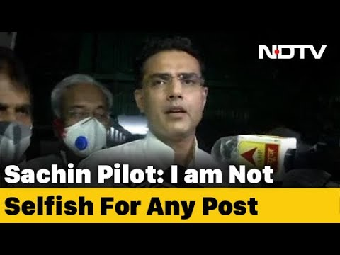 """Rajasthan Crisis: """"Issues Were Ideological, Was Important To Raise Them,"""" Says Sachin Pilot"""