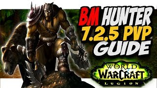 hey guys and girls here is our bm hunter pvp guide for patch 7.2.5. as we all know bm hunters have had a huge it recently BUT if ...