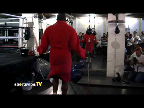 Dereck Chisora in Training for David Haye