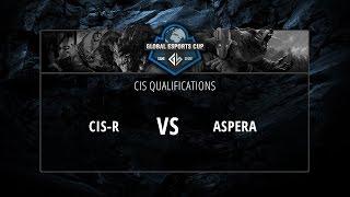 CIS Rejects vs aSpera, game 1