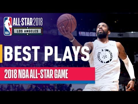 THE VERY BEST PLAYS from the 2018 NBA All-Star Game (видео)