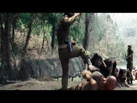 Rambo 4 mass scene Tamil
