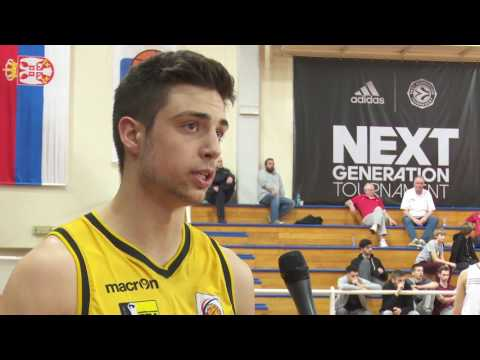 ANGT Belgrade: Interview with Mateo Seric, U18 Porsche BBA Ludwigsburg