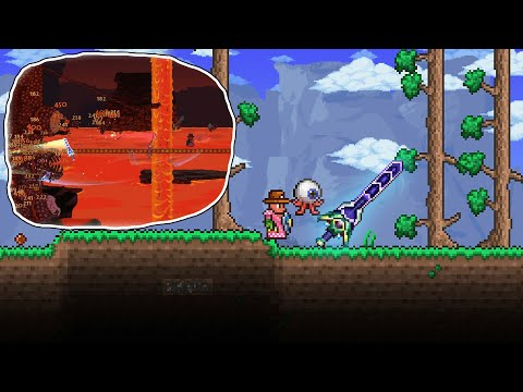 Terraria, but I start with Zenith