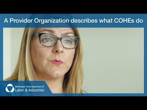 A Provider Organization describes what COHEs do