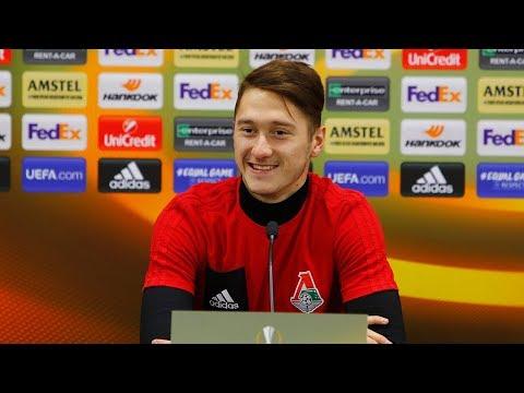 Антон Миранчук: Сделаем все, чтобы победить «Копенгаген» (видео)
