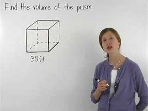 Volume of a Cube Video