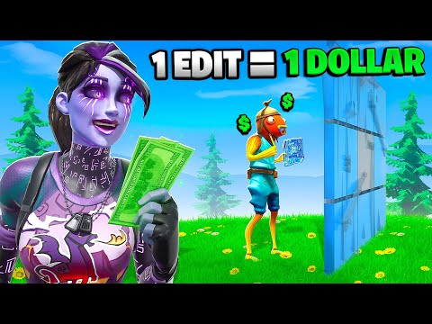 Giving A 7 Year Old $1 For Every Time He Edits!
