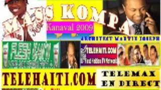 Mass Kompa Kanaval 2009  Gracia Delva By Tele Haiti