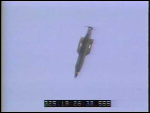 "GBU-43/B Massive Ordnance Air Blast (MOAB) ""mother Of All Bombs"", 2003 MC-130 Drop Test -Color Video"