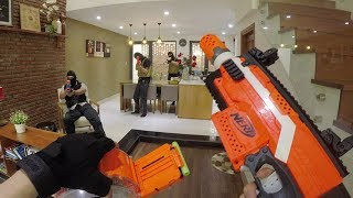 Nerf War: First Person Shooter 4 (ft  Donald Trump and Hillary Clinton)