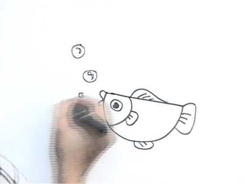 รูปปลา - มาฝึกศิลปะให้เด็กๆ กับครูก๊อกสอนศิลป์กัน เริ่มจากการวาดรูป และลงสีแบบง่ายๆ...