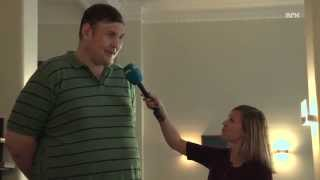 ESC 2013: Kjempen Igor skal hjelpe Ukraina til seier