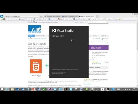 Universal Apps mit dem Web App Template schnell und einfach erstellen