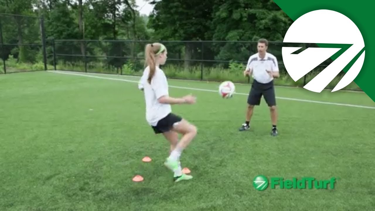 FT Academy – Inside Foot Volley Soccer Training Drill with Mike Sorber