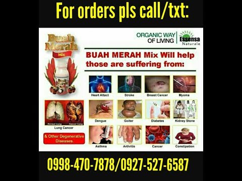 BUAH MERAH MIX(ANTI CANCER)Essensa Naturale Business Opportunity Philippines