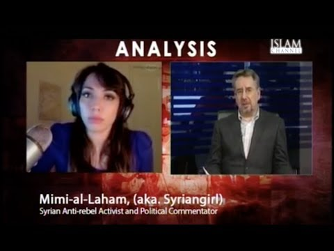 Syriangirl Joins Debate on #Syria-'s Elections on UK's Islam TV #SyriaElection