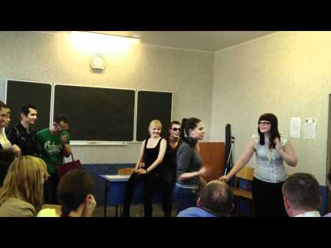 Сценка Юкг-209 FullHD 1080p. Административное право./ Russian students