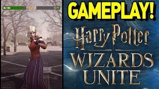 FIRST GAMEPLAY of HARRY POTTER WIZARDS UNITE! HARRY POTTER GO! by aDrive