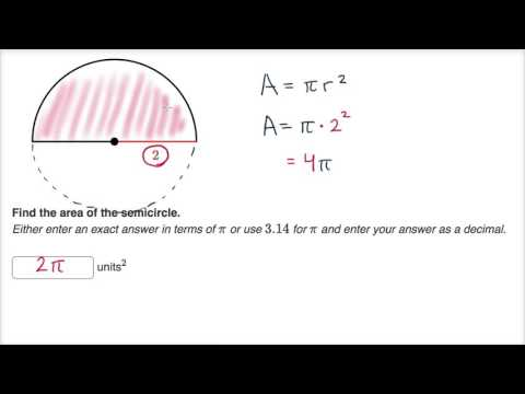 Partial Circle Area And Arc Length Video Khan Academy